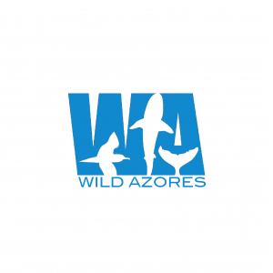 logo wild azores blue